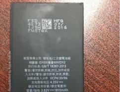 疑似iPhone6電池曝光 !