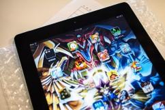 iPad 2摔後導致LCD液晶螢幕顯示異常