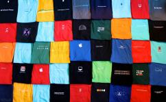 令人羨慕的45件蘋果T恤