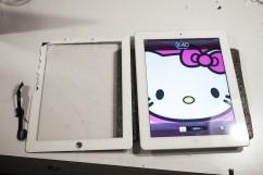 iPad 4觸控面板破裂