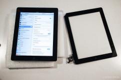 外國遊客來台期間iPad 2摔破觸控面板導致觸控失靈/不靈敏