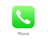 iOS6與iOS7 iCON的對比圖