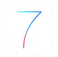 支援iOS7機型ㄧ覽表