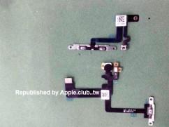 疑似iPhone6 5.5吋開關機與音量排線曝光 ?!