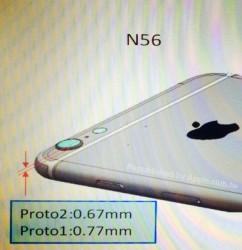 iPhone 6後面鏡頭將突起 ?!